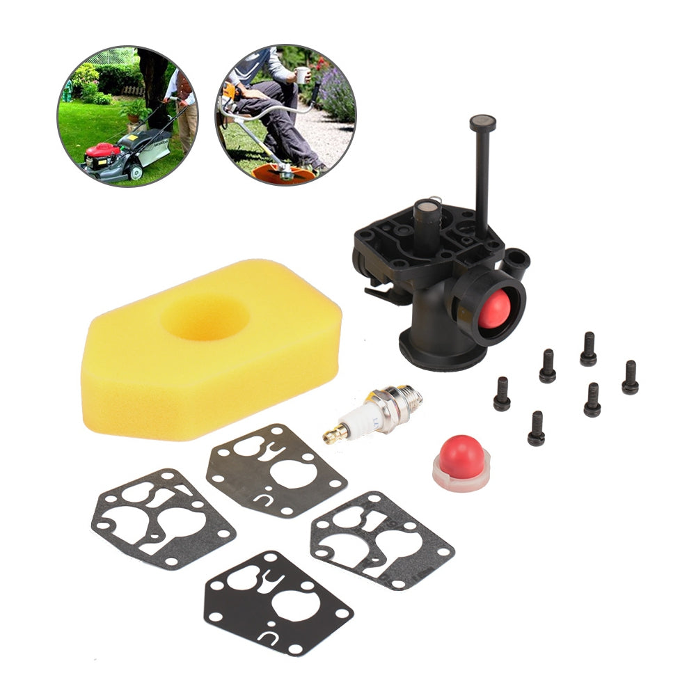 Carburetor Kit for Briggs & Stratton 795477 795469 794147  with Air Filter 698369