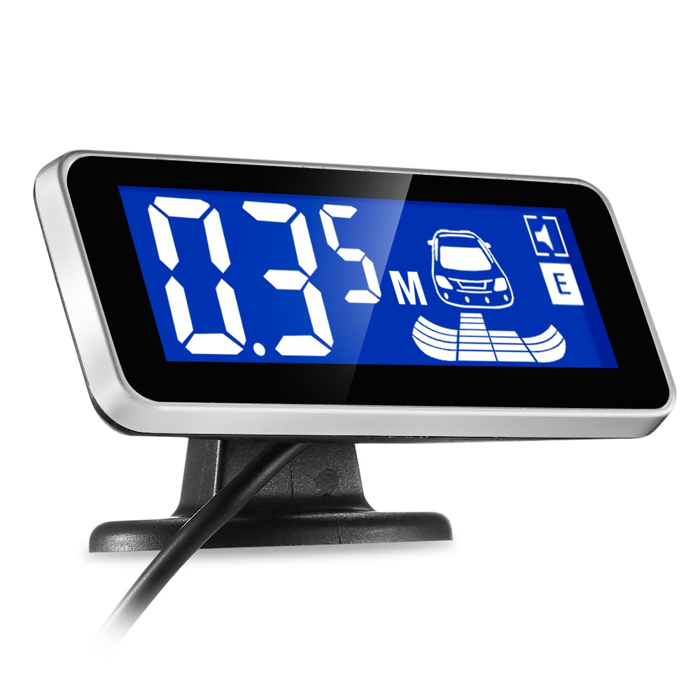 ATS - 188 Car Parking Radar System 2.5m Distance Detection LCD Display 360-degree Rotation
