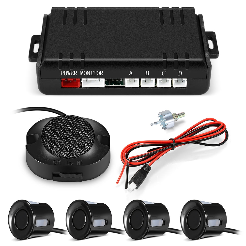 ATS - 058A Car Parking Radar System 0 - 2.5m Distance Detection High dB Buzzer Sound Alert