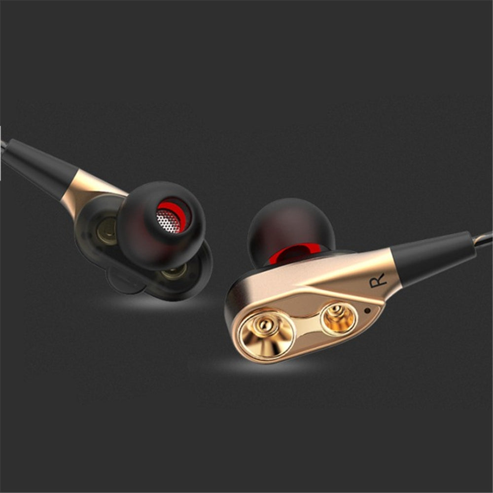 Qkz Ck8 Explosion In-Ear Double-Motion Running Game Hifi Music Headphones