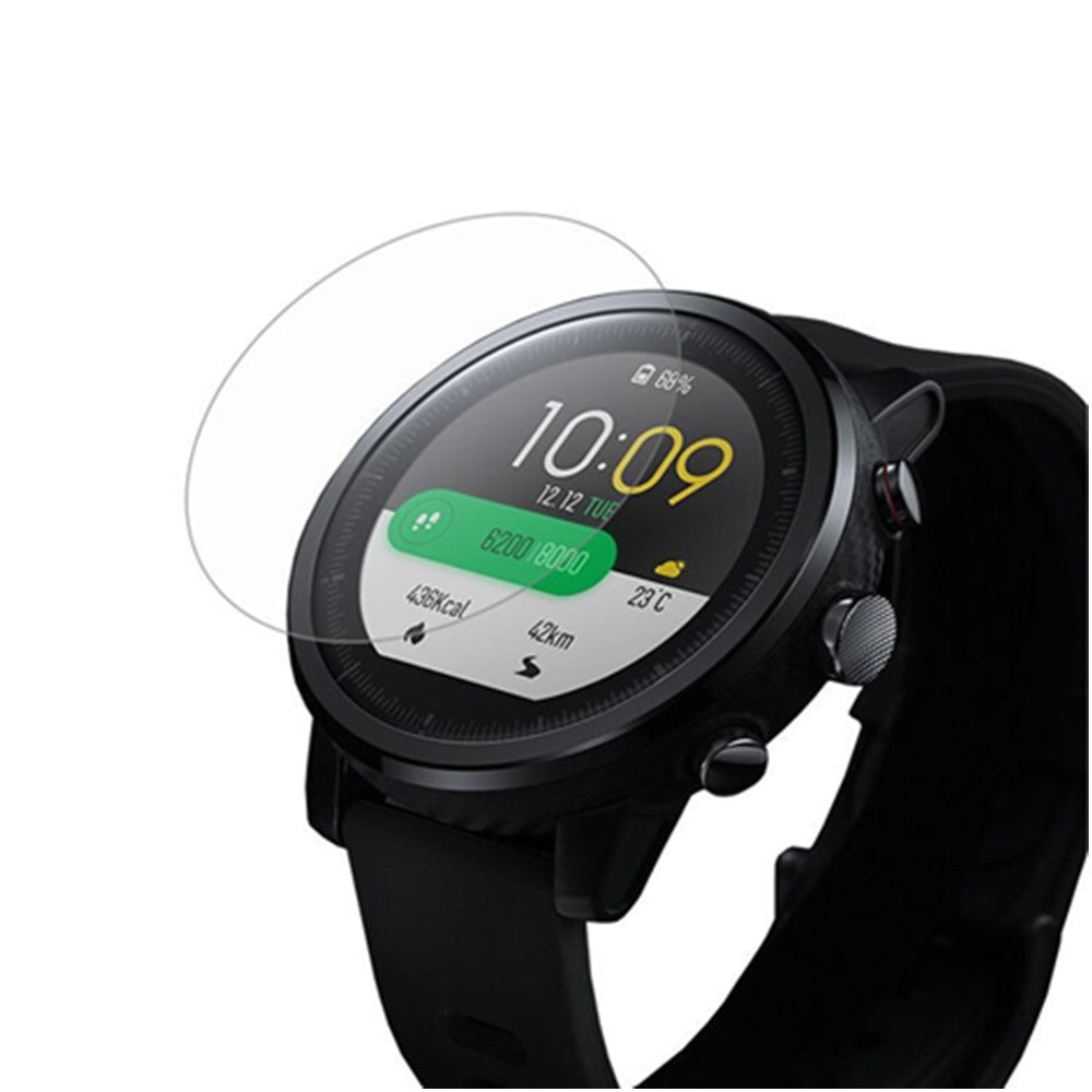 Screen Protector Film for HUAMI Amazfit 2 / 2S Stratos Smartwatch 2pcs