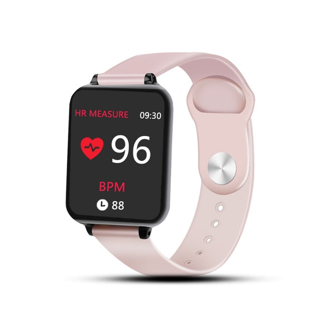 Smartwatch Waterproof for iPhone or Android phones Smartwatch Heart Rate Monitor Blood Pressure Functions For Women Men or Kids