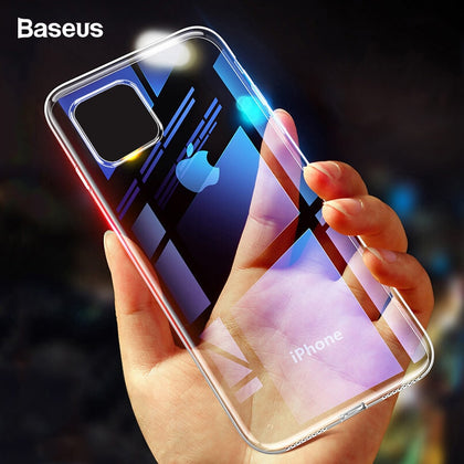 Baseus Case For iPhone 11 Pro Max Coque Ultra Thin Soft TPU Transparent Clear Silicone Back Cover For iPhone Xs Max XR Capin