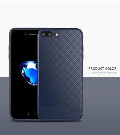 Carbon Fiber Case for iphone X iphone 7 8 plus XR XS Max 11 7 Luxury Case for iphone 6S 6 plus iphone 8 XS Max XR Cover Silicone
