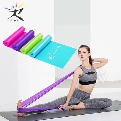Elastic Resistance Bands Expander Stretch Exercise Rubber Band Fitness Equipment Pull Rope Strength Training Gym Yoga Crossfit