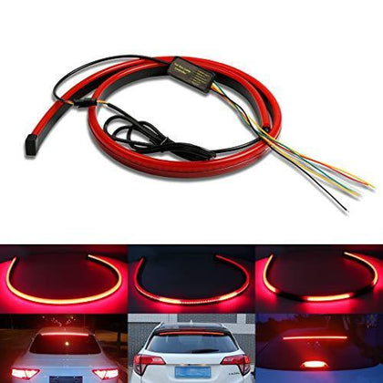 Universal 40'' Car LED Centre High Mount Third Stop Brake Light Bar Signal Lamp 12V