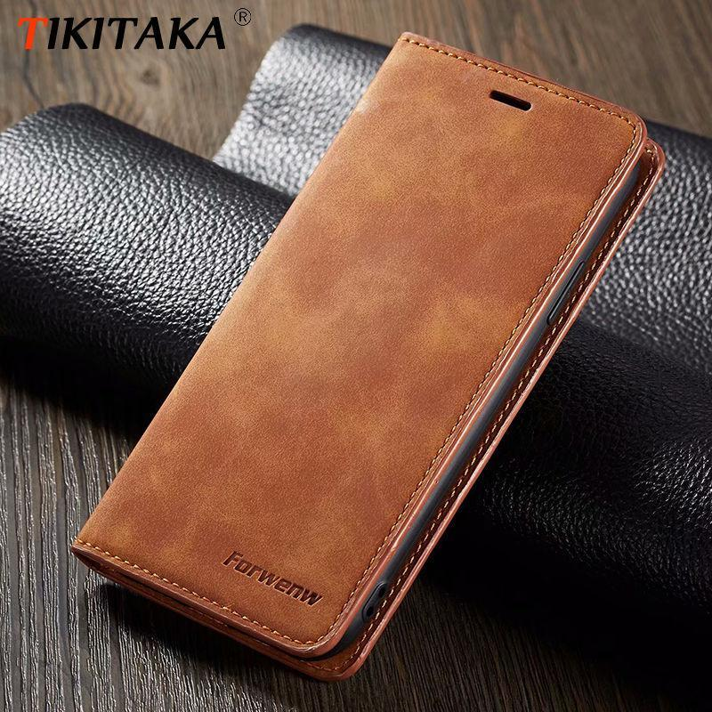 Case For Iphone Xs Max Xr X 8 Plus 6 6S Plus 7 Plus Phone Case Leather Flip Wallet Magnetic Cover With Card Holder Book