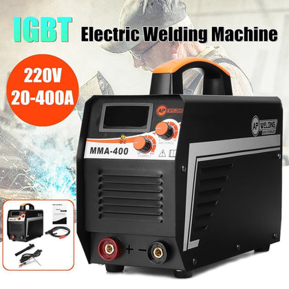 IGBT Inverter Arc Electric Welding Machine 220V Digital Display MMA Arc Stick Welder Set For Welding Working New Arrival 2019