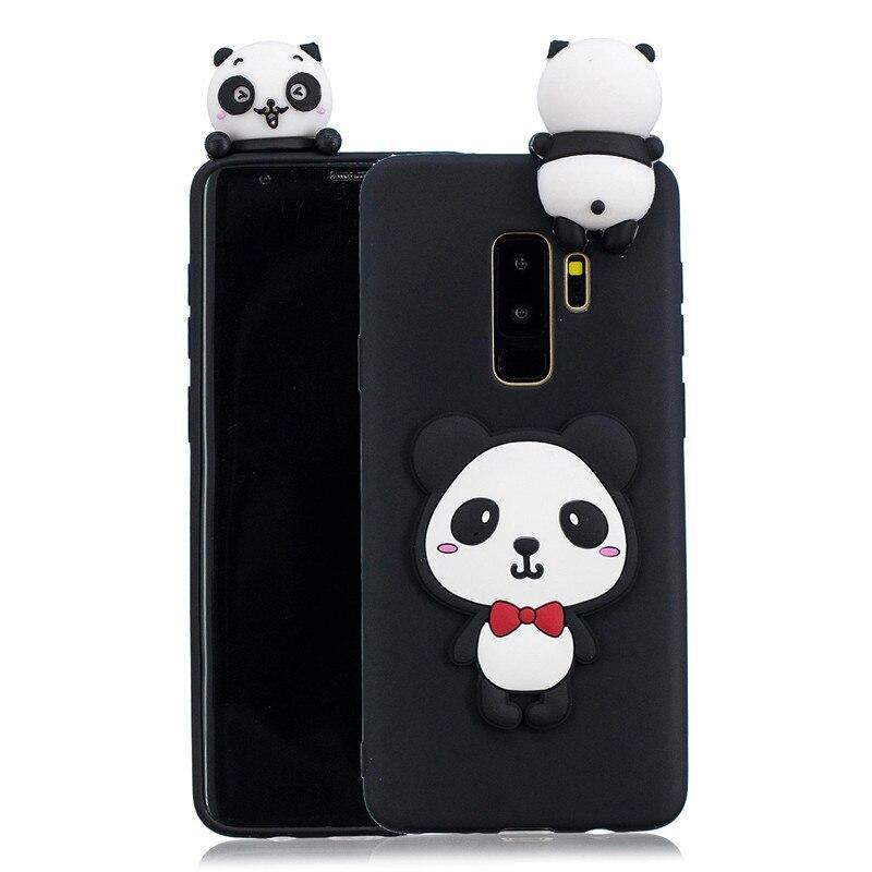 For Coque Samsung Galaxy S9 Case On For Samsung Galaxy S8 S9 Plus S6 S7 Edge Cover Fundas 3D Doll Toys Candy Soft Silicone Cases