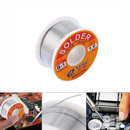 0.5/0.6/0.8/1 mm 2.0% 45FT tin Tin Lead Wire Melt Rosin Core Soldeer Soldeer Wire Roll 100g 60/40 FLUX  Wire Welding Soldering