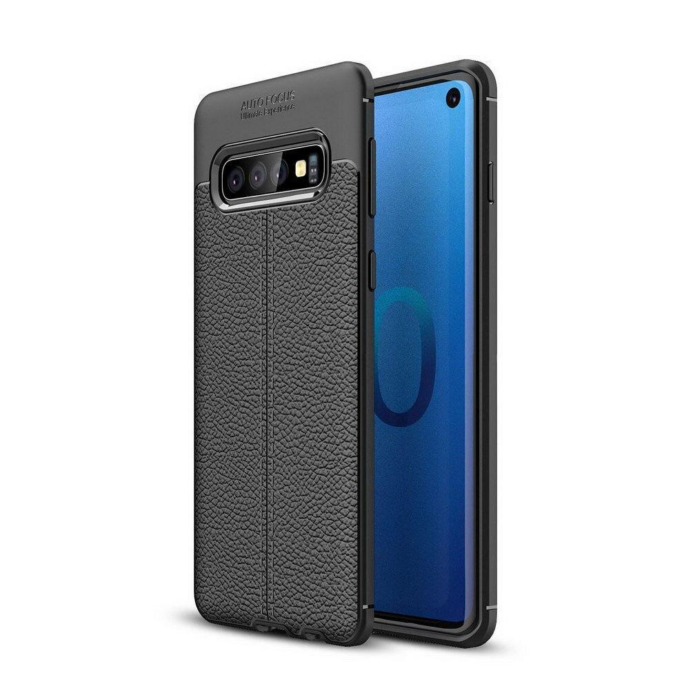 For Samsung Galaxy S10 Case Protective Slim Tpu Soft Silicone Shockproof Fiber Cover For Samsung S10 Plus Fundas S10E S10 +