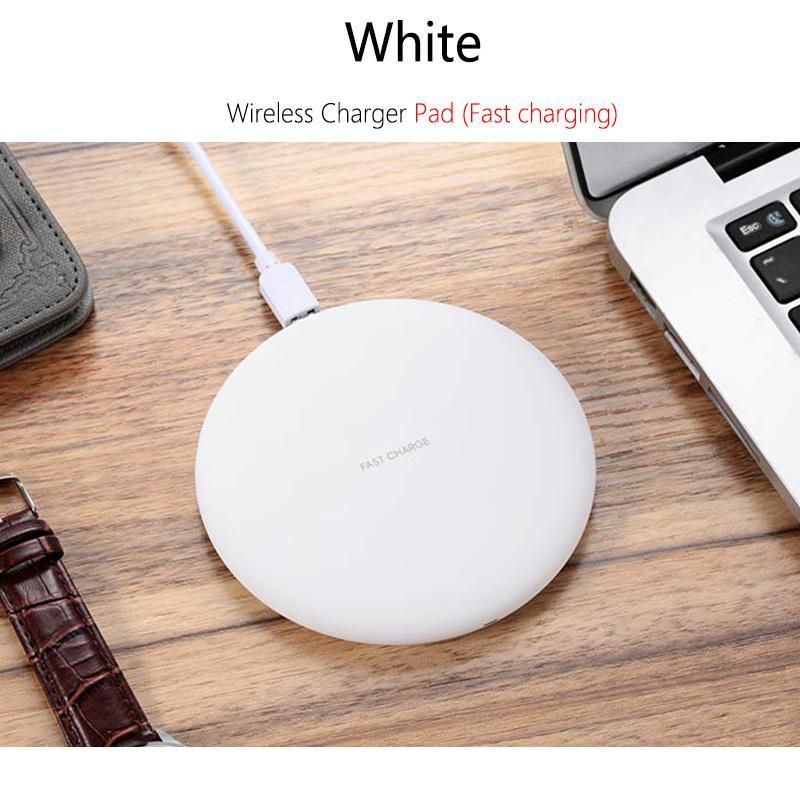 Wireless Charger For Samsung S6 S7 Edge S8 S9 Plus Note 5 8 Fast Charging Dock Stand Desk For Iphone X 8 Qi Wireless Chargers
