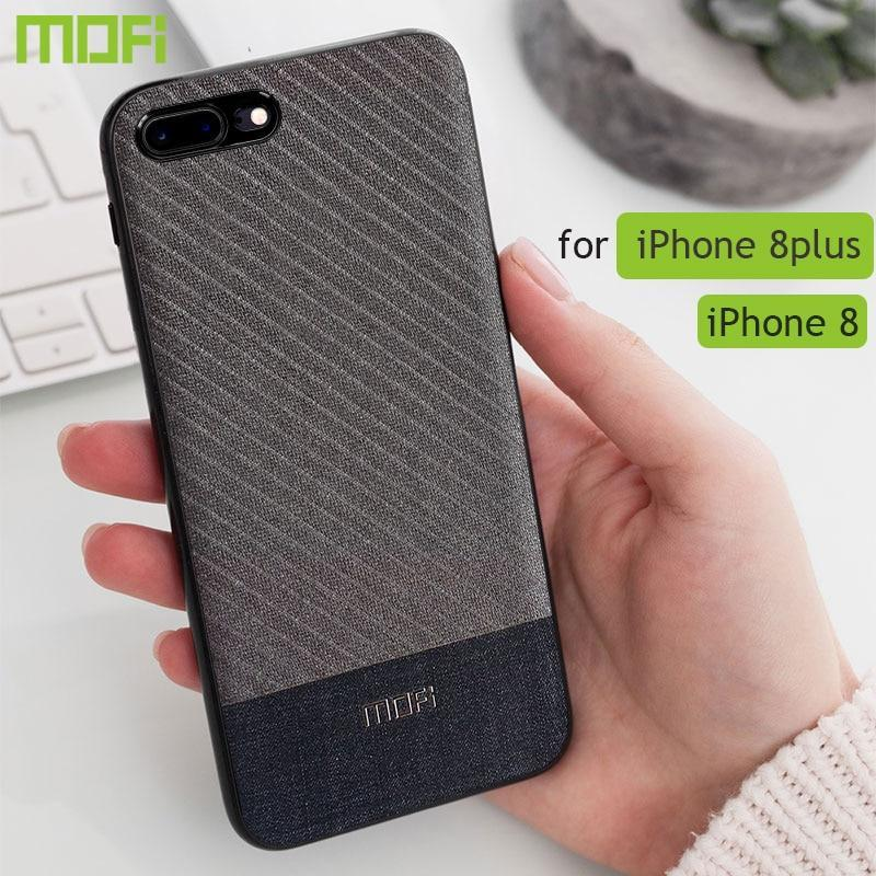 For Iphone 8 Plus Case Cover Fabric Cloth For Iphone 8 Case Business Dark Color For Iphone 7/7Plus Handcraft Gentleman Ip7 Case