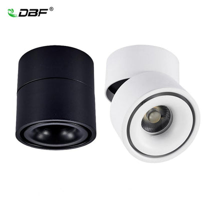 Foldable 360 Degree Rotation LED Ceiling Spot Lights 7W 10W 12W 15W LED Downlight Surface Mounted for For Kitchen Bathroom Light