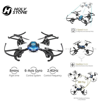 [EU USA Stock] Holy Stone HS170 Predator Mini RC Helicopter Drone Remote 30-50meters 2.4G 4 Channels perfect for Drone Training