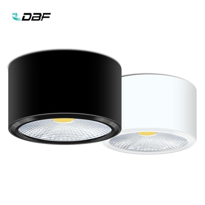 [DBF]Surface Mounted LED Downlights 3W 5W 7W 12W LED Ceiling Down Lamp Kitchen Bathroom Dimmable LED COB Downlights Lamp