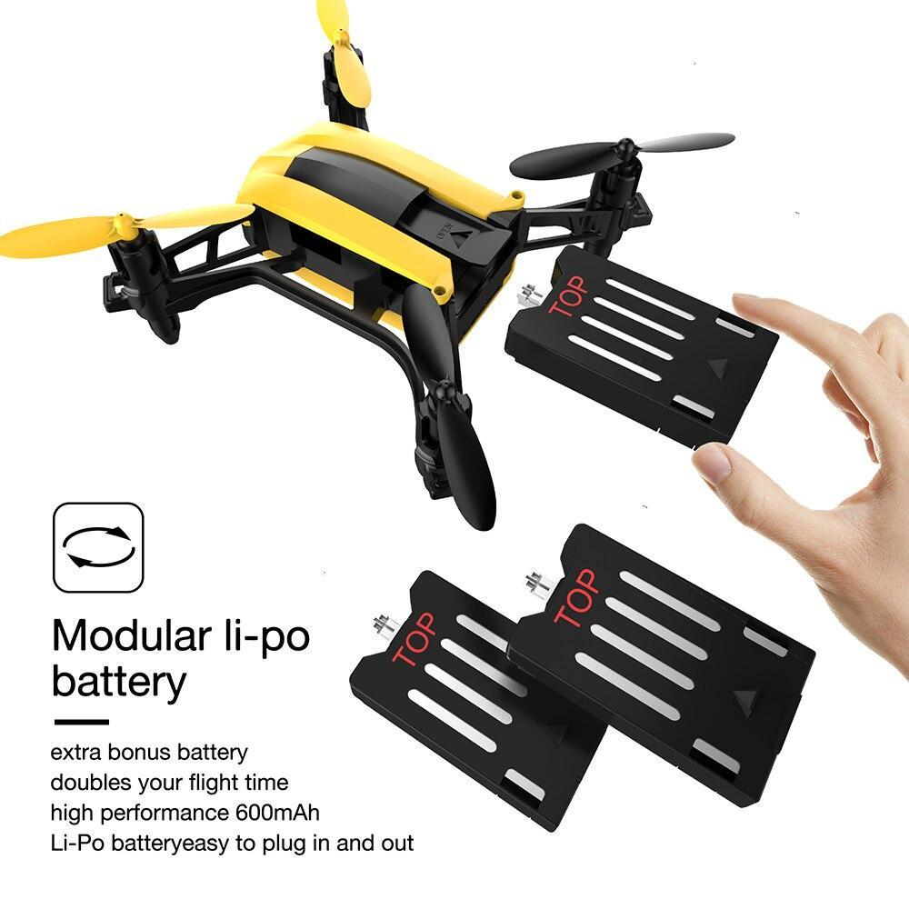 [Usa Stock] Holy Stone Hs150 Bolt Bee 50Km/H High Speed Racing Rc Quadcopter Rtf 2.4Ghz 6-Axis Headless Mode Wind Resistance