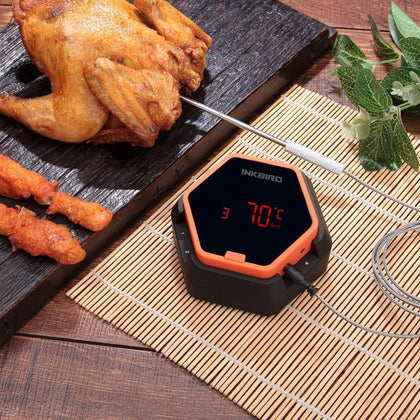 Inkbird IBT-6X Digital Food Cooking Bluetooth Wireless BBQ Thermometer With Six Probe For Oven Meat Grill Smoking BBQ Free APP