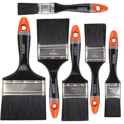 KSEIBI House Decorative Paint Roller Brush Set Acrylic Oil Wooden Building Painting Household Tool Wall Decoration 1-4 in