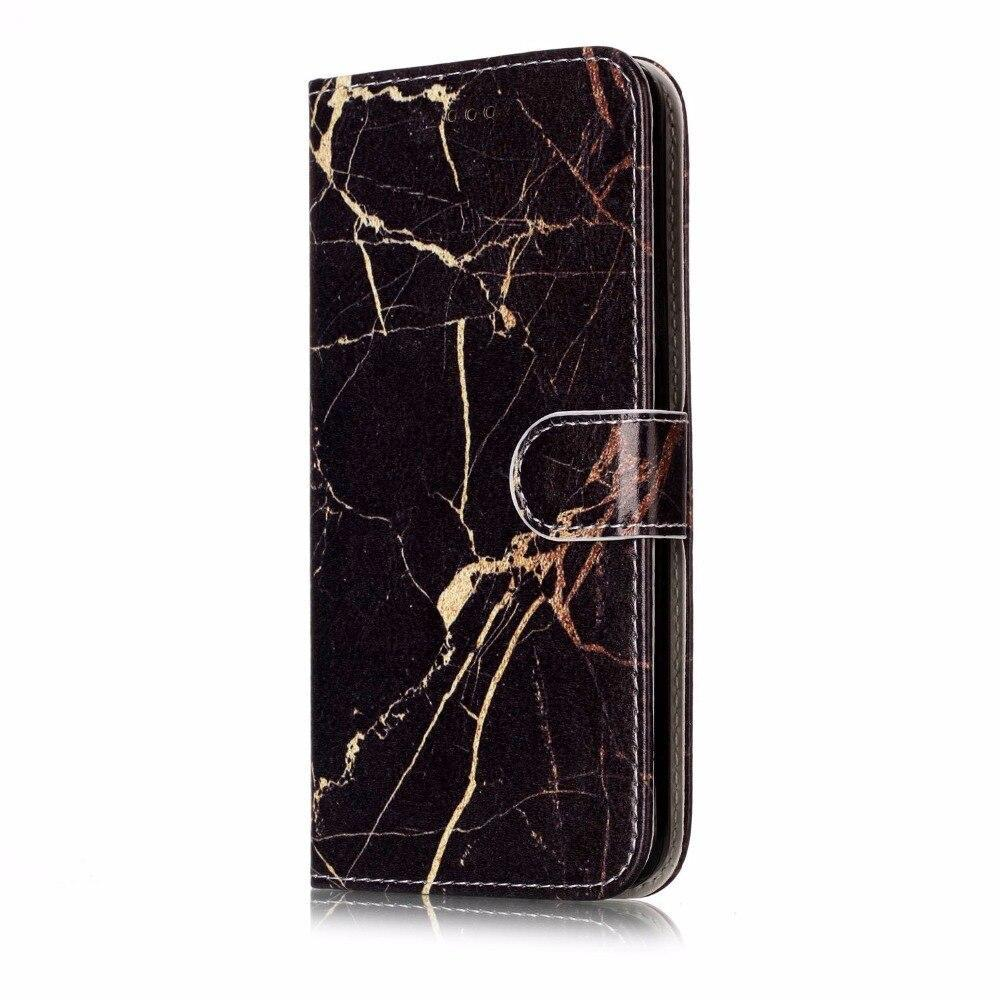 Coatuncle Flip Leather Case Sfor Coque Samsung Galaxy J5 2017 J530 Case For Samsung J5 2015 2016 Wallet Cover Marble Phone Case