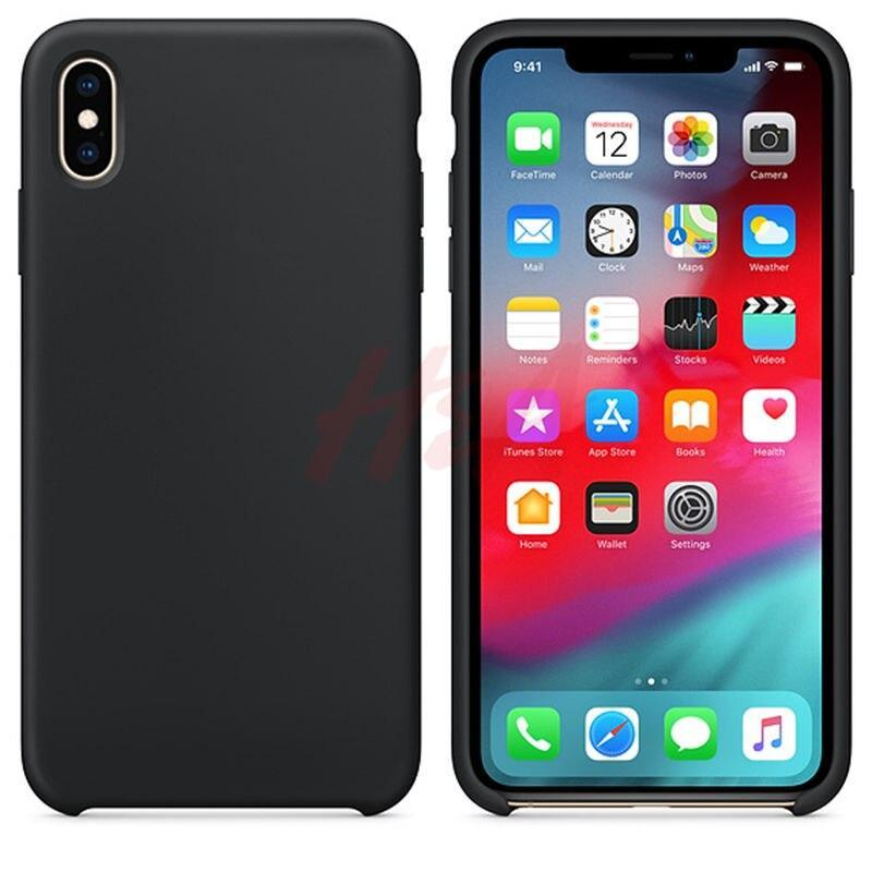 H&A Luxury Original Silicone Case For Iphone 8 6 Plus Phone Cover For Apple Iphone 7 6S Plus X Xs Xs Max Xr Cover Case Funda