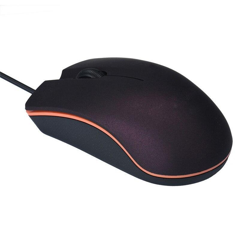 1200 DPI 2.4GHZ LED  USB Wired Optical Gaming Mice Mouses For PC Laptop Computer