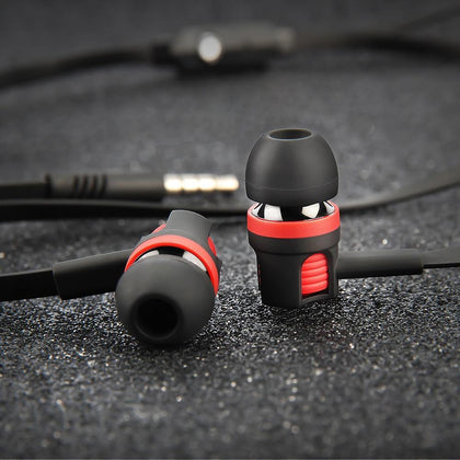 Langsdom JM26 3.5mm Wired Earphone For Phone Samsung Xiaomi Headphone In Ear Earphones Headset With Mic Ear Phone Earbuds Earpie
