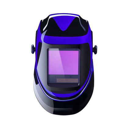 DEKO MZ232 Solar Powered Welding Helmet Auto Darkening Professional Hood  Wide Lens Adjustable Shade Range 4/9-13 for Mig Tig