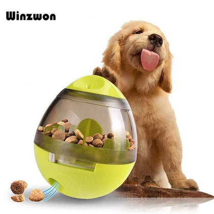 1Pcs Dogs Toys Pets Puppy Toys Smarter Tumbler Leakage Food Feeding Ball Anti-depression Pets IQ Training Magic Ball For Dogs