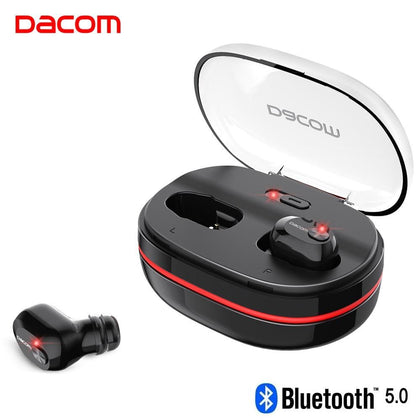 Dacom K6H Pro Bluetooth Earphone 5.0 Wireless Headphones Ear Buds TWS True Wireless Earbuds Ear Pods Mini Headset PK i12 i10 tws