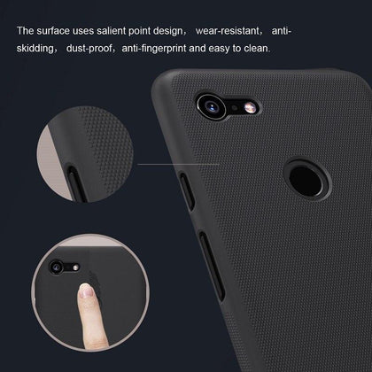 For google pixel 3 xl case cover 6.3'' NILLKIN Frosted PC Matte case Gift Phone Holder for pixel 3 xl case for google pixel 3xl