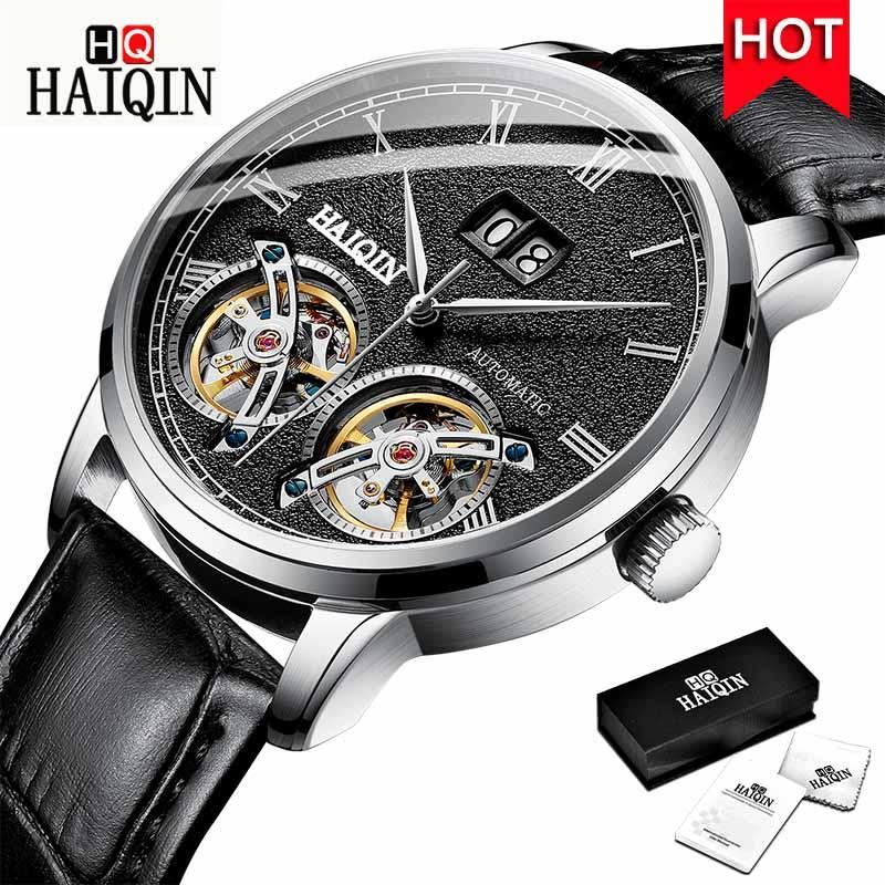 Haiqin Men'S Watches 2019 Top Luxury Brand Fashion/Military/Automatic/Mechanical/Waterproof/Sports/Watch Men Clock Reloj Hombre