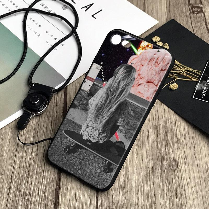 Vintage Trippy Art Aesthetic Coque Soft Silicone Tpu Phone Case Cover Shell For Apple Iphone 5 5S Se 6 6S 7 8 Plus X Xr Xs Max