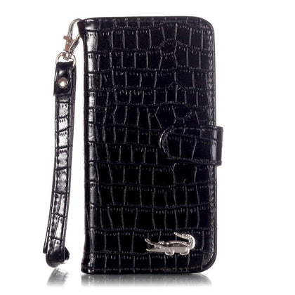Luxury Crocodile Skin Alligator Wallet Flip Leather Brand Case For Apple Iphone 5 5s 6 6s 6plus 6s Plus 7 7plus 7 8 Plus Cover