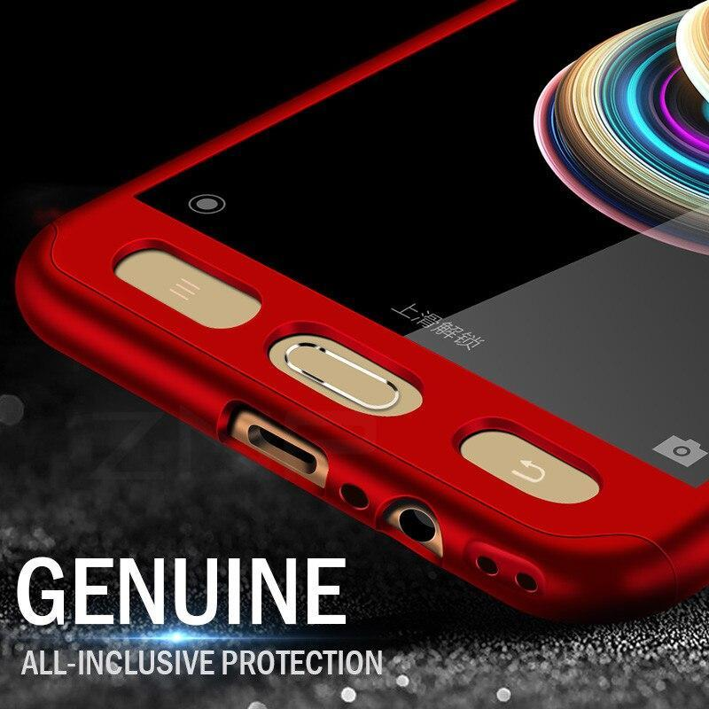 360 Degree Full Cover Cases For Samsung Galaxy J5 J7 A3 A5 A7 2017 2016 Case Hard Plastic Cover With Glass For Samsung S7 Capa
