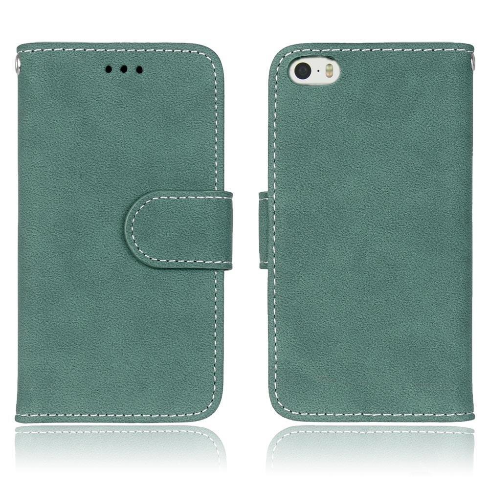Wallet Leather Case For Apple Iphone 5 5S Se Luxury Phone Coque Cover For Iphone5 Flip Cases Capa Fundas For Iphone Se Bag
