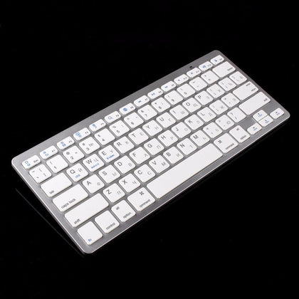 kemile Russian Language Wireless Bluetooth 3.0 keyboard for Samsung tablet&Smart phone Lenove and Huawei Android Windows System