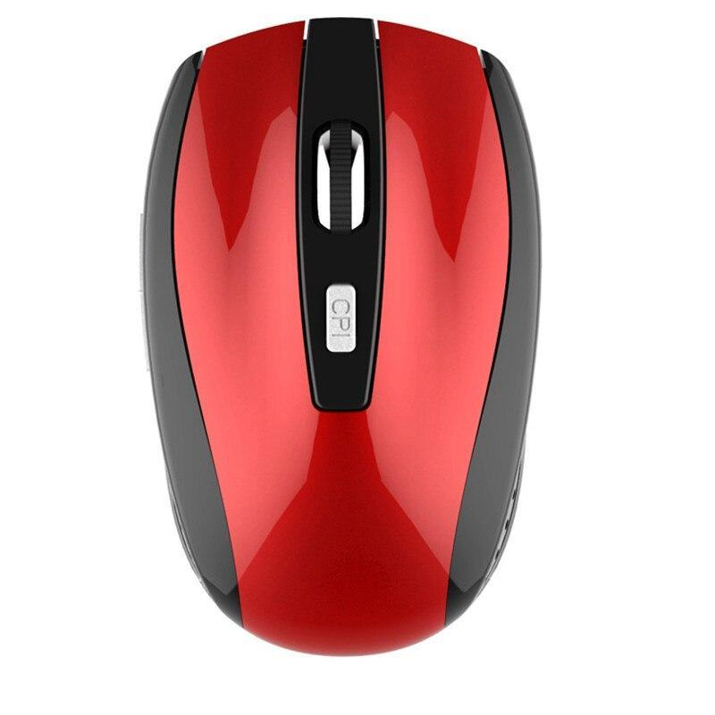 Red 1 Portable 2.4GHz Wireless Optical Gaming Mouse Mice USB Receiver for Computer PC Laptop Gamer