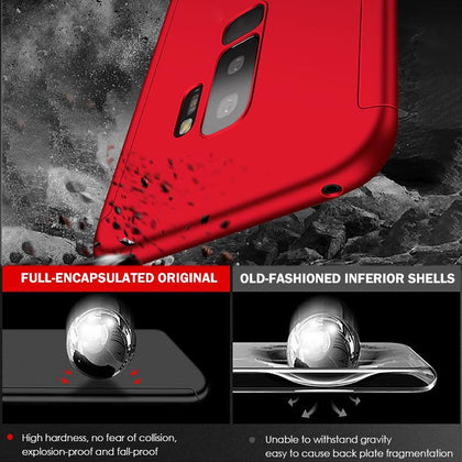 ZNP Shockproof 360 Degree Cases For Samsung Galaxy Note 9 8 S9 S8 S10 Plus Case Phone Cover For Samsung S7 Edge S9 S8 S10E Case