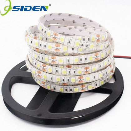 OSIDEN DC12V 5M LED Strip 5050 RGB,RGBW,RGBWW 60LEDs/m Flexible Light 5050 LED Strip RGB White,Warm white,Red,Blue,Green