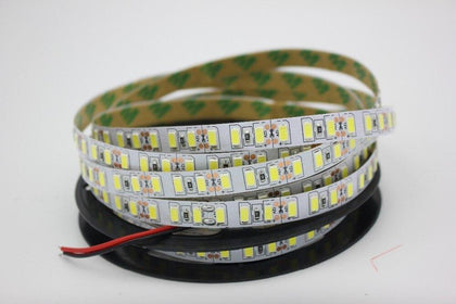 Super bright 5m 5730 LED strip 120 led/m IP20  Not waterproof, 12V flexible 600 LED tape,5630 LED ribbon, white/warm white color