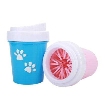Bolux Pet Cats Dogs Foot Clean Cup For Dogs Cats Cleaning Tool Soft Plastic Washing Brush Paw Washer Pet Accessories For Dog
