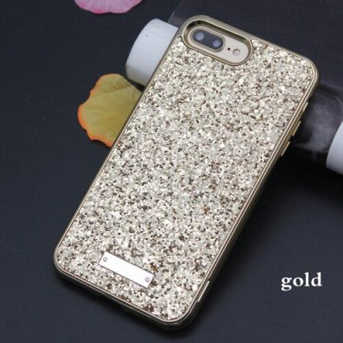 Jcovrni For Iphone7 8Plus 2 In 1 Fashion Shine Design Women Phone Case Cover For Iphone X Xs  Back Cover Cases Fundas Coque