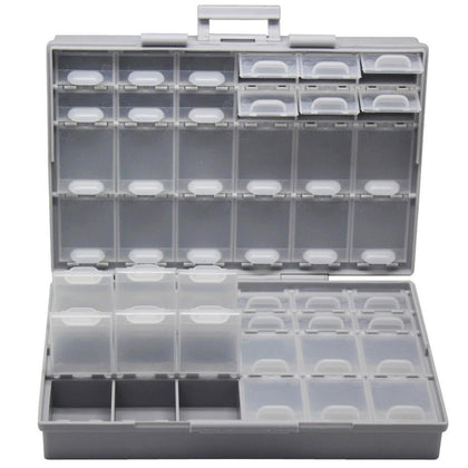 AideTek surface mount Electronics Storage Cases & Organizers plastics compartment tinyassortmt box resistor capacitor BOXALL48