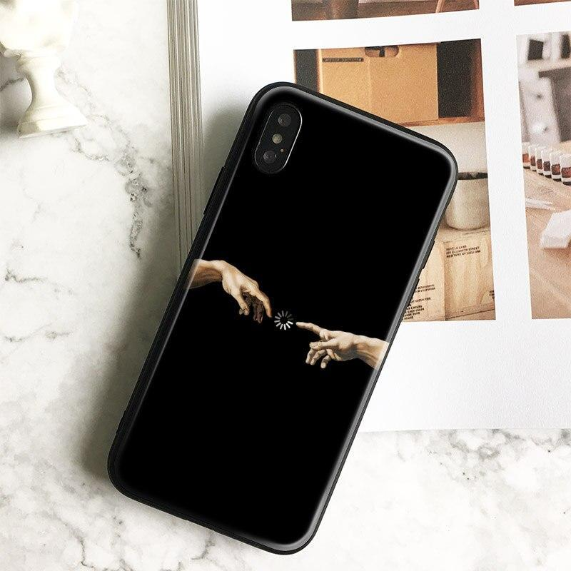 Creative Design Memes Funny Coque Tpu Soft Silicone Phone Case Cover Shell For Apple Iphone 5 5S Se 6 6S 7 8 Plus X Xr Xs Max