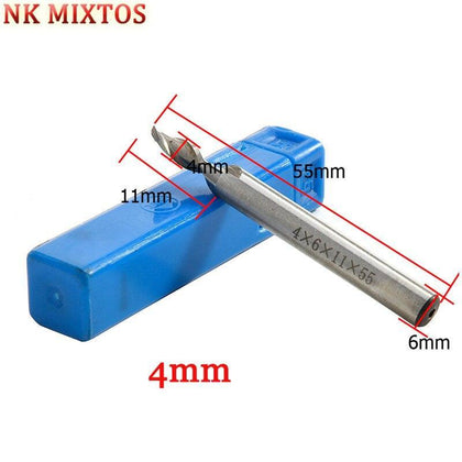 NK MIXTOS 2 Flutes HSS-AL Spiral Engraving Bits Milling Cutter, CNC Wood Router Bit, End Mills, Carving Tools Machine