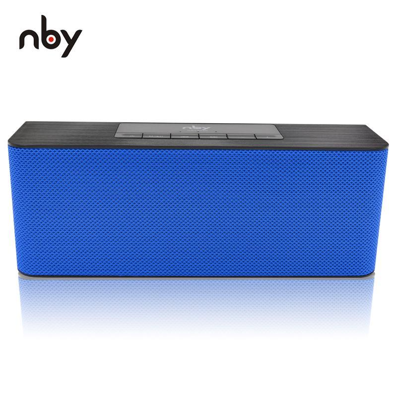 Nby 5540 Bluetooth Speaker Portable Wireless Speaker High-Definition Dual Speakers With Mic Tf Card Loudspeakers Mp3 Player