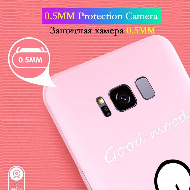 S10 Plus Luxury Cute Case For Samsung Galaxy A3 A5 2017 J3 J5 J7 Coque Cover Case For Samsung Galaxy S8 S9 S10 Plus A6 A8 2018