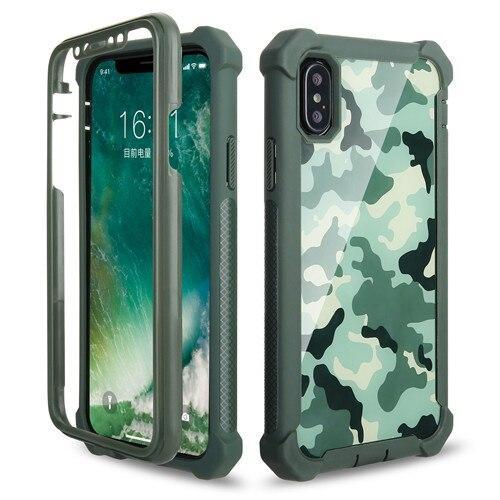 Heavy Duty Protection Doom Armor Pc+Soft Tpu Phone Case For Iphone Xs Max Xr X 6 6S 7 8 Plus 5S 5 Shockproof Sturdy Cover