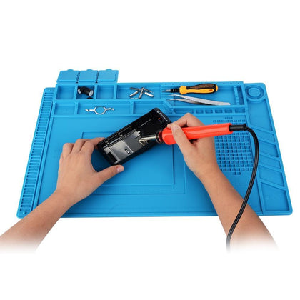Silicone Heat Insulation Maintenance Electronic Repair Mat Insulator Pad Platform Repair Tool Mat Heat Gun BGA Soldering Station